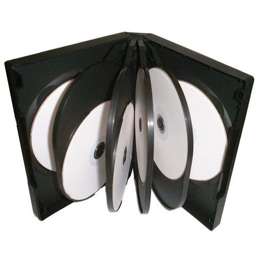 12 way DVD Case Black x 50 Cases