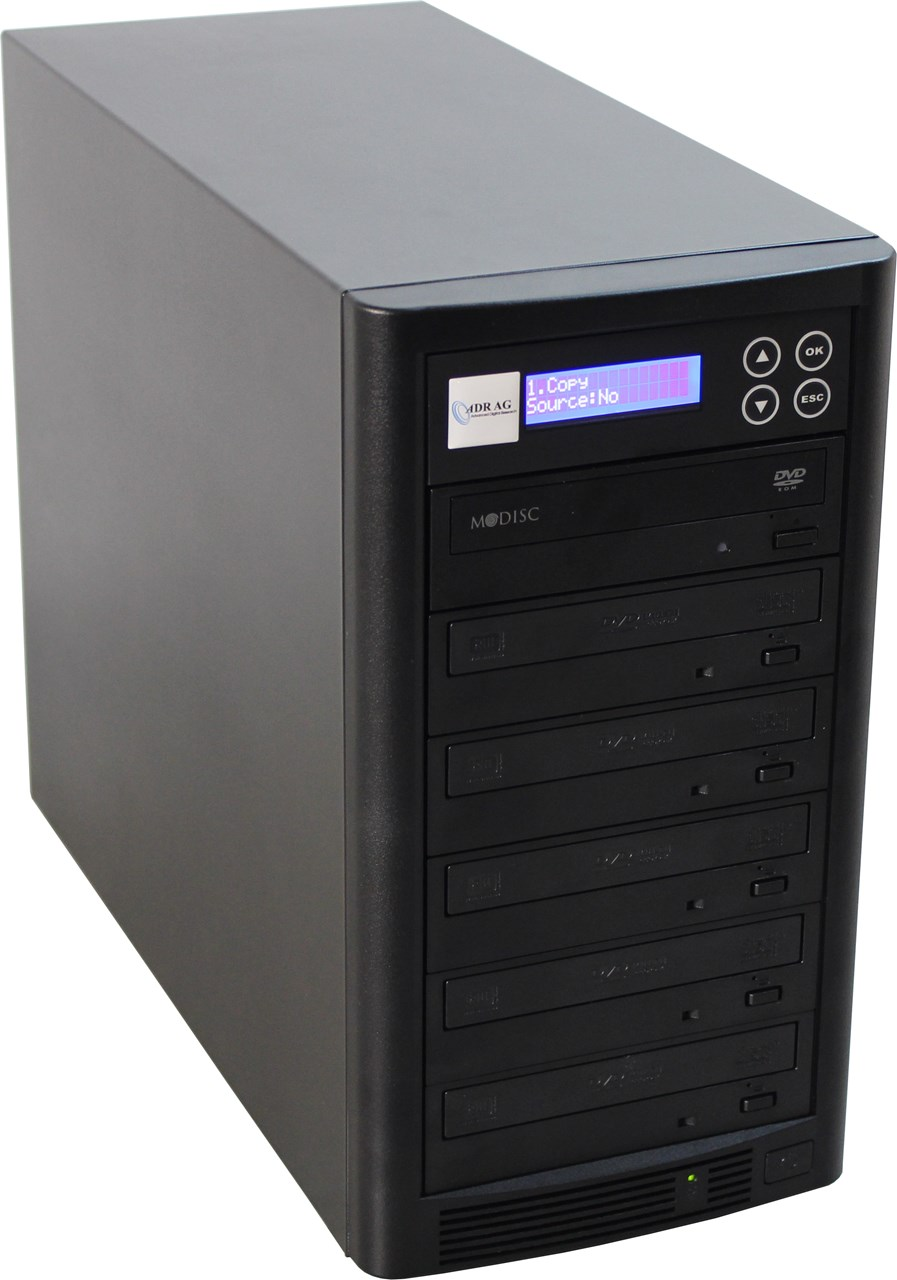 1 to 5 CD / DVD / Blu-ray Duplicator - Whirlwind Tower