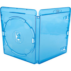 Amaray Blu-Ray Case 11mm 100 Cases