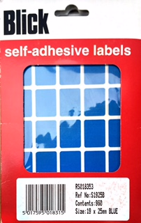 Blick Self-Adhesive Labels (1200/pack)