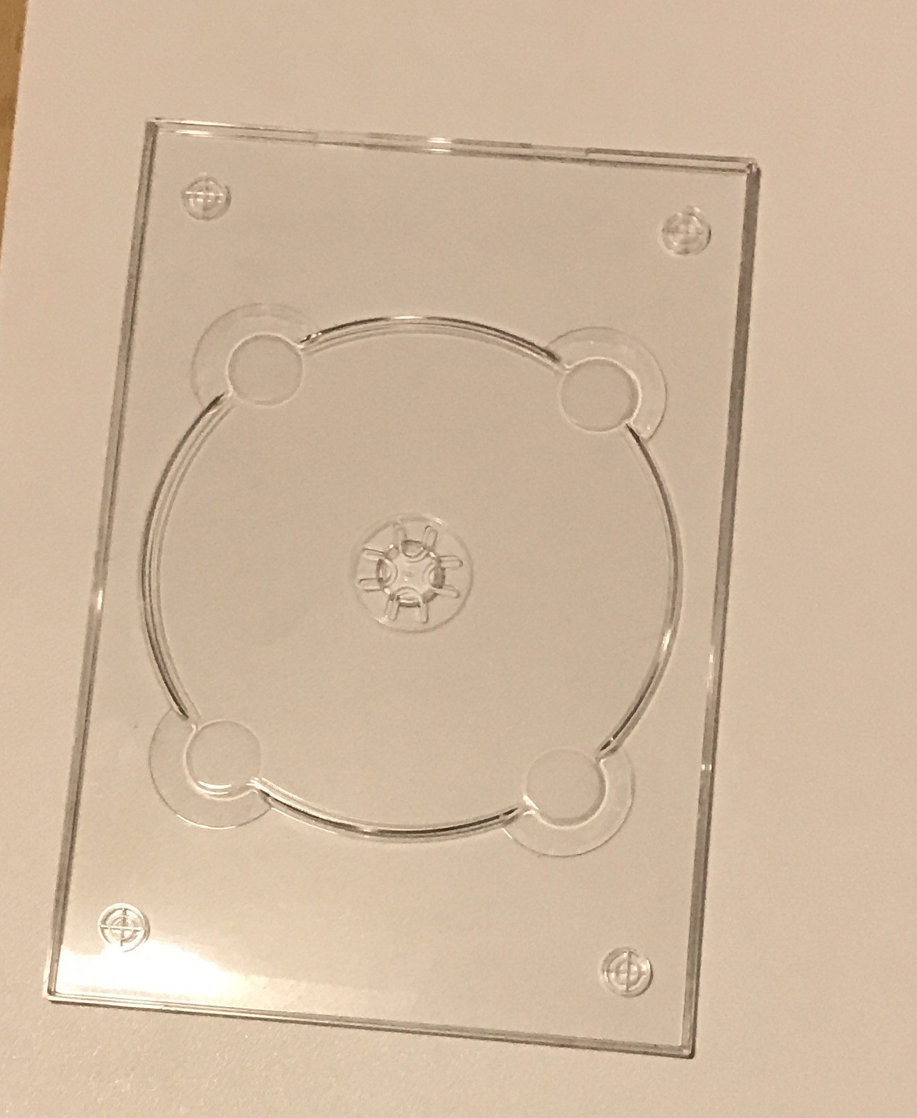 DVD Digi / Flexi Tray Clear - no logo x 25