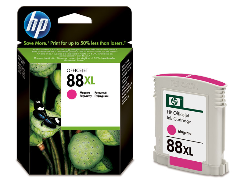 HP 88XL Magenta Ink - HP88 C9392AE