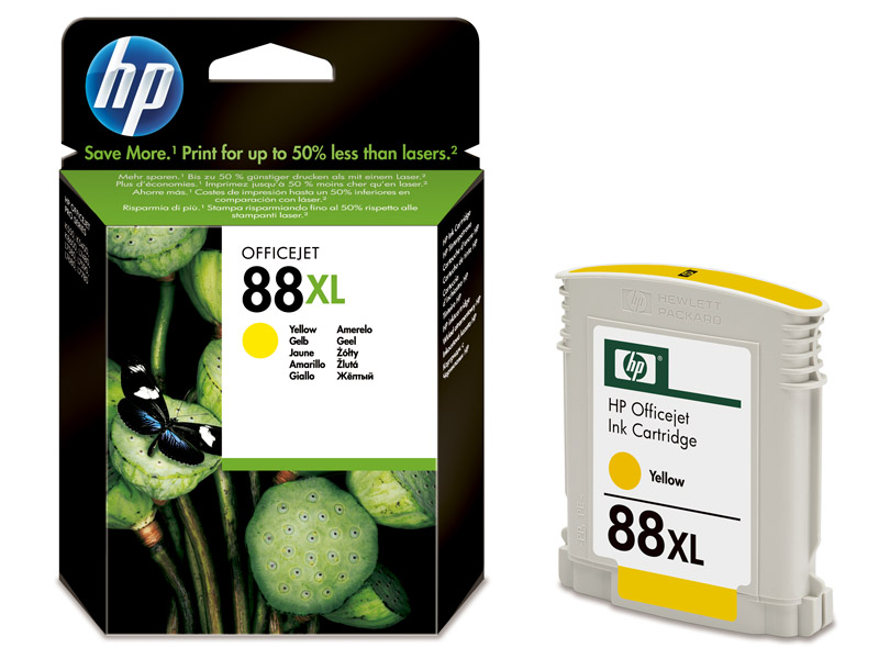 HP 88XL Yellow Ink - HP88 C9393AE