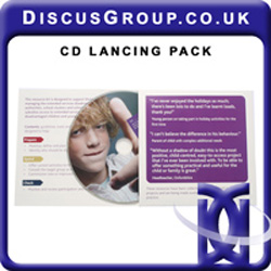 Printed Card Lancing Packs x 1000