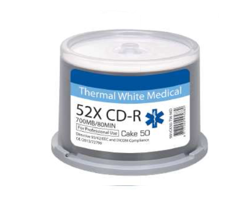 Ritek MEDICAL LINE Thermal Printable CD-R x 600