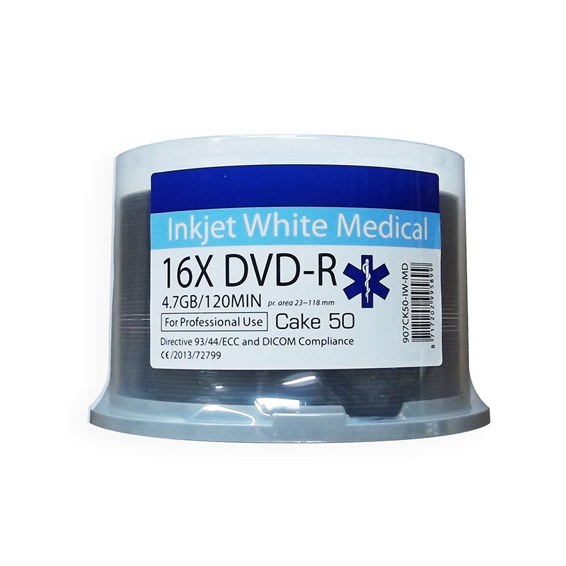 Ritek MEDICAL LINE Inkjet Printable DVD-R x 600