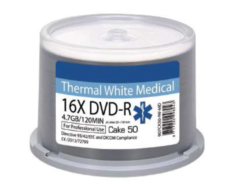 Ritek MEDICAL LINE Thermal Printable DVD-R x 600