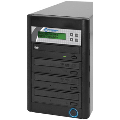 Microboards QD CD and DVD Duplicator 1 to 3