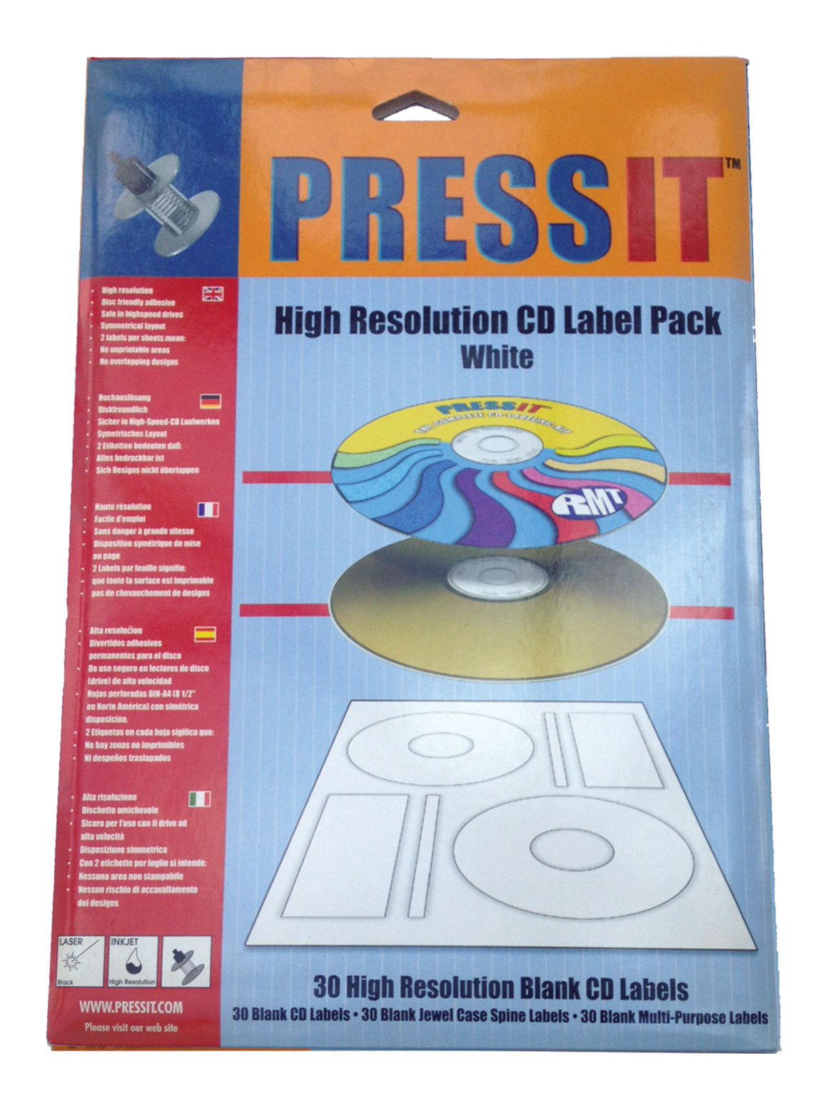 pressit cd label refill pack opti pack co uk