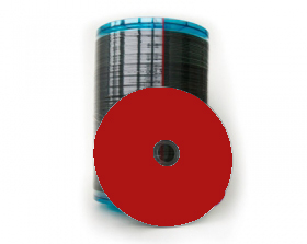 Sony CD-R Thermal Printable Red (700Mb/80Min) 100 Discs