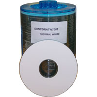 Sony CD-R Thermal Printable White 40mm Centre 400 Discs