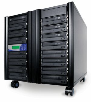 1 to 14 CD / DVD / Blu-ray Duplicator - Whirlwind Tower