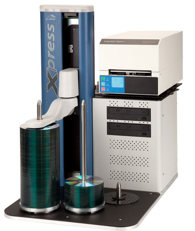 Xpress XE CD/DVD Duplicator with Xpression Printer