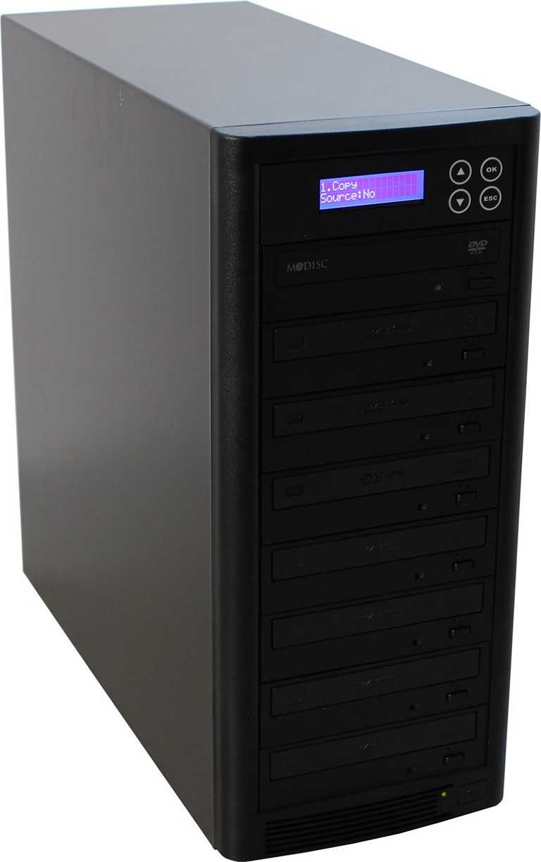 1 to 7 CD / DVD / Blu-ray Duplicator - Whirlwind Tower