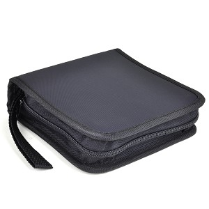 Montanta 24 Disc Nylon CD Carry Case - Black