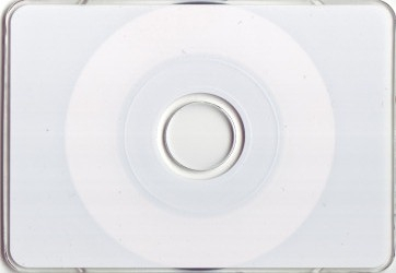 Business Card Silver - Non Printable CD-R 100 Discs