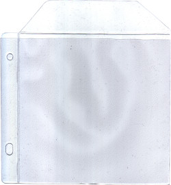 Poly Wallet with Flap and Ring Binder holes 150 micron x 100
