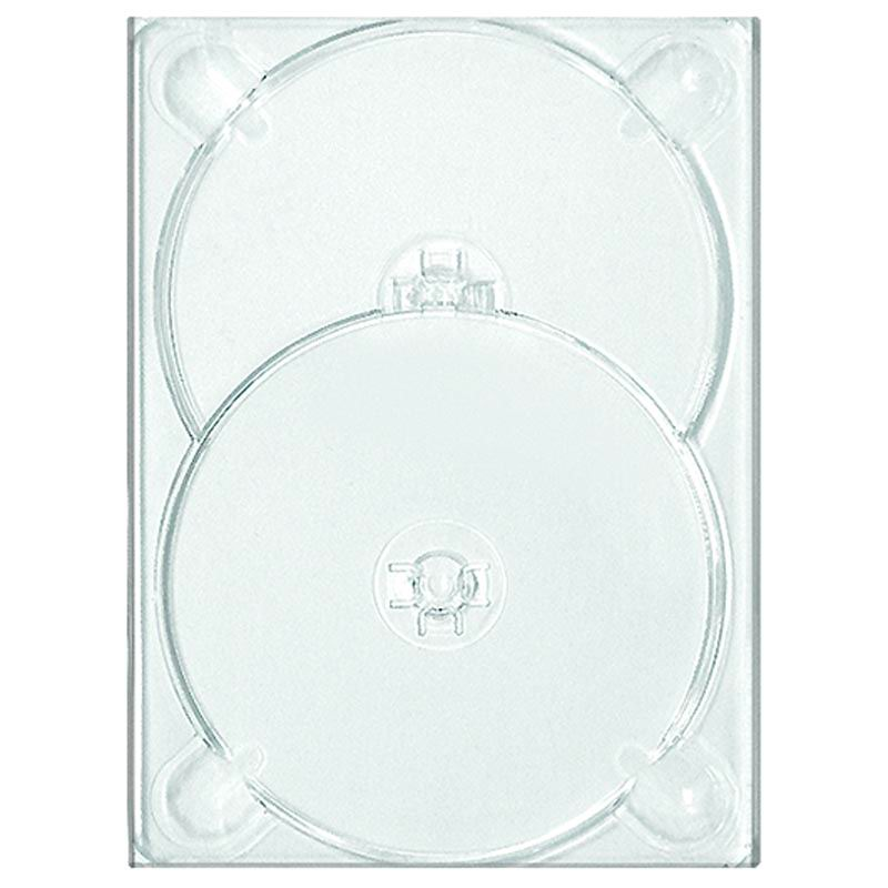 DVD Digi / Flexi Tray Clear Double no logo x 25