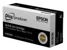 Epson PP-50 Ink Cartridge Black PJIC6 C13S020452