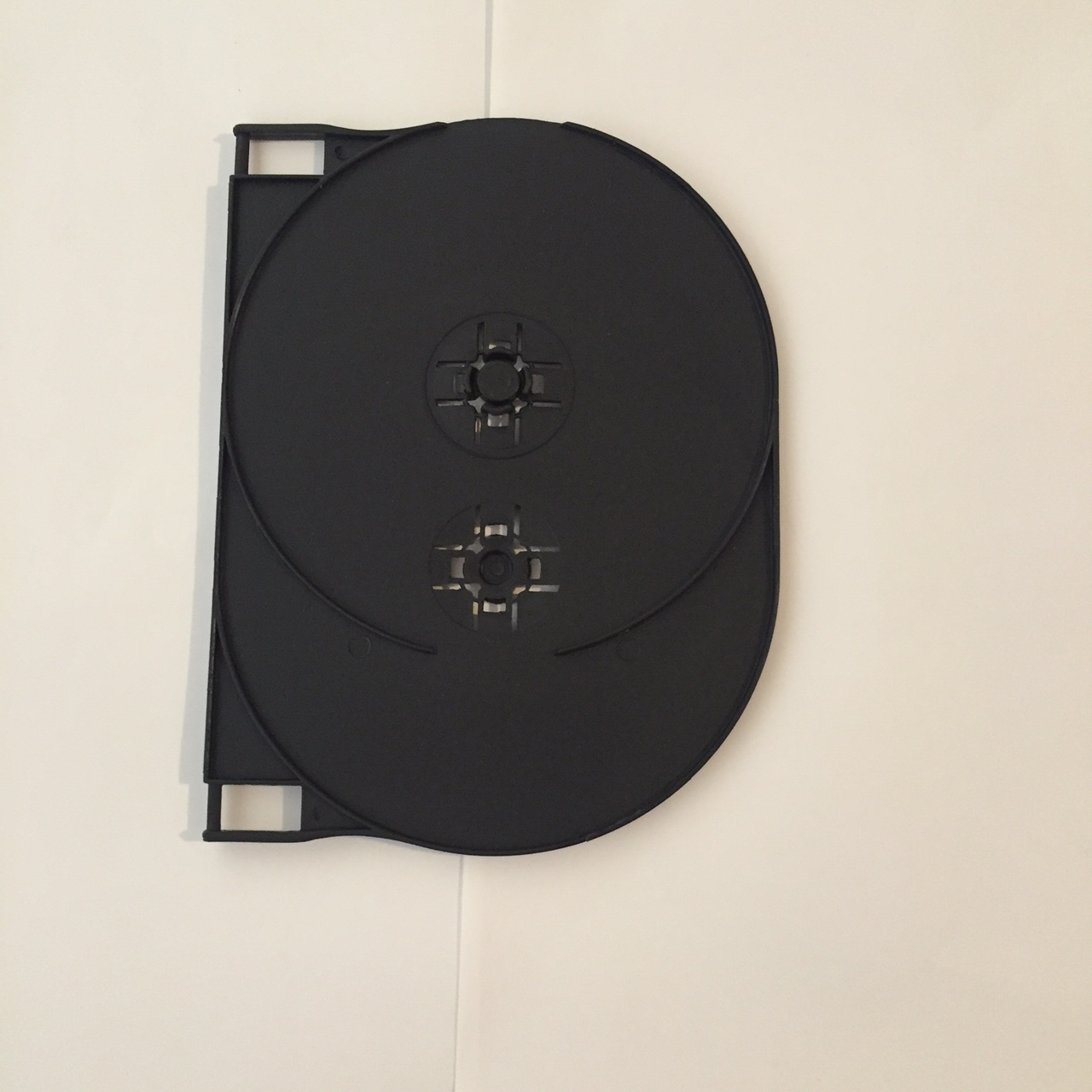 Black Double Wing for DVD Case x 25
