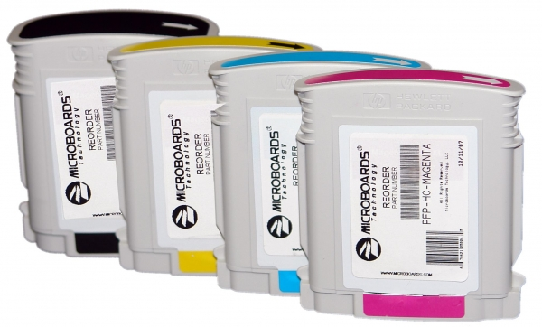 Microboards PF-PRO / MX1 / MX2 - CMYK Ink set