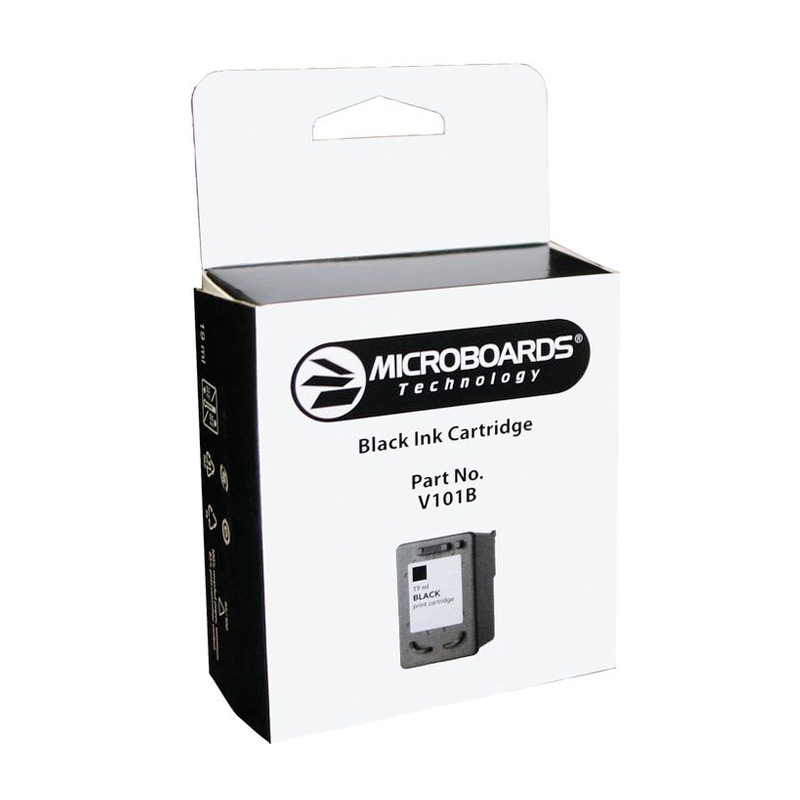 Microboards CX1, PF-3 Black Ink Cartridge - V101B