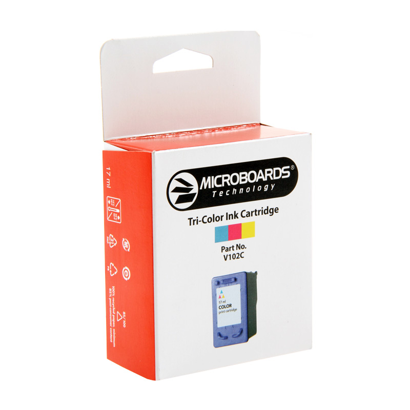 Microboards CX1, PF-3 Colour Ink Cartridge - V102C