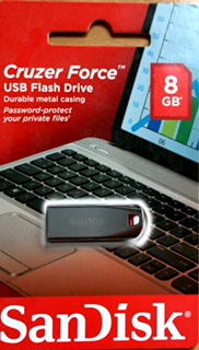 SanDisk Cruzer Force USB Flash Drive - 8GB x 1