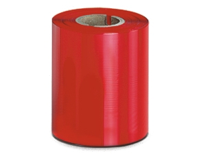Worldmark Red Zebra Wax Thermal Transfer Barcode Ribbon 110x450m