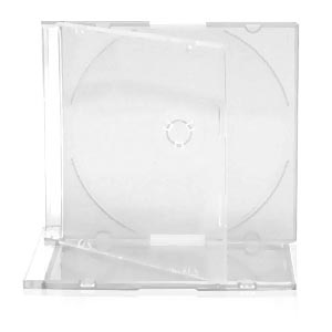 Slim Jewel Case with Clear Tray 5.2mm 200 Cases