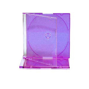 Slim Jewel Case with Purple Tray 5.2mm 200 Cases