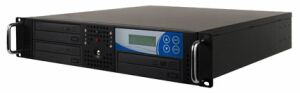 "Thunder 1:3 duplicator with 3 DVD/CD-writer for 19"" rack mount"