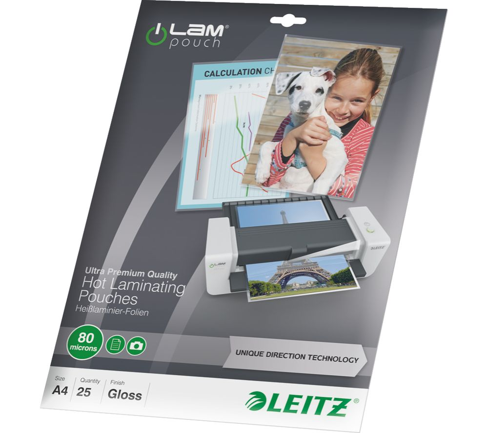 Hot Laminating Pouches - 25 pack