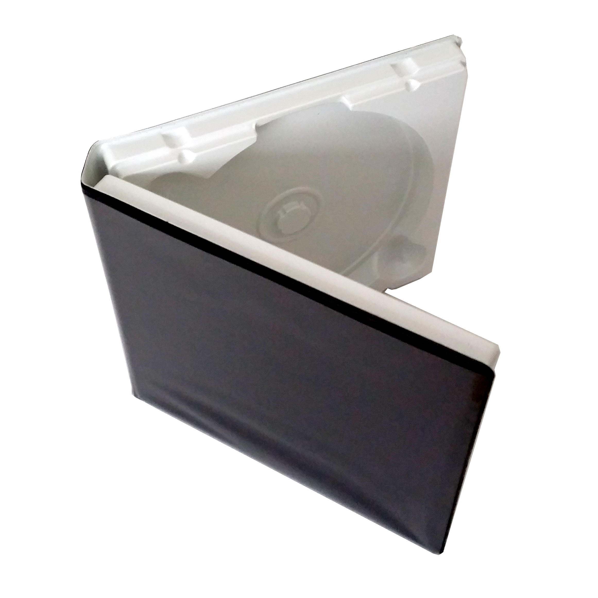 CD DVD Vacuum molded formed Library Case - pack of 20