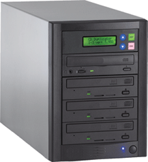 1 to 3 CD / DVD / Blu-ray Duplicator - Whirlwind Tower